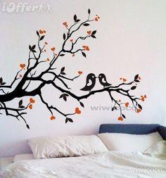 birds on a tree limb