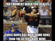 That Moment When You Realize.... MLB Memes, Chris Davis