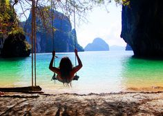 swing with a view...this is my dream