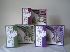 Pop Up Cards, Diy Cards, Christmas Cards, Fancy Fold Cards, Folded Cards, Card Making Templates, Paper Roses, Greeting Cards Handmade, Homemade Cards
