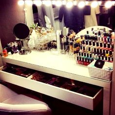 My dream makeup station