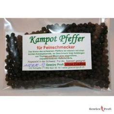 Kampot Pfeffer schwarz ganz 50g im Flachbeutel 11.50