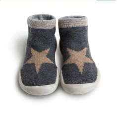 puseky 1 Pair Baby Kids Boy Girl Non Slip Socks Unisex Baby Warm Walker Socks
