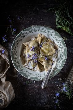 'Tortelli d'Erbette' (Ricotta & Chard Ravioli with Parmigiano) from an Old Immigrant from Busseto, Parma