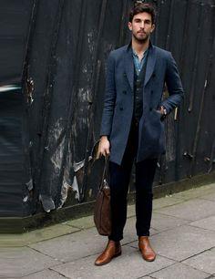 Love the coat.