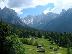 Val Canali, Trentino. SO many summer holidays spent here with my beautiful place.