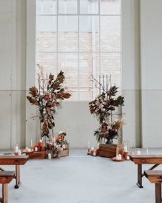 "Autumnal ""Canberra Wedding Styled Shoot"" at the Fitters Workshop. Inspiration for weddings, elopements and vow renewals. Burgundy Wedding, Autumn Wedding, Red Wedding, Wedding Flowers, Sunset Wedding, Wedding Dresses, Wedding Picture List, Wedding Pictures, Rose Gold Candle Holder"
