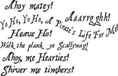 Pirate Signs and Sayings | KGrHqQOKkYE4BMBvq4rBOC3tiYK+!~~0_35.JPG