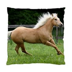 """Designer horse theme pillow case covers bringing the latest colour trends and images into your living area or bedroom. It measures about 17"""" x 17"""", can easily insert standard size cushions.   The velcro closure is designed for quick laundering. The case is made of 100% polyester, which greatly helps to sharpen the digital image and enhance the silky feel!    Priced at US$25 with free shipping."""