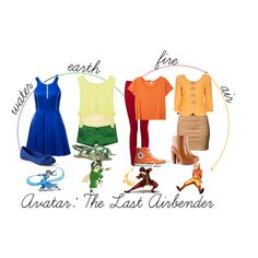 """""""Avatar: The Last Airbender"""" by jackie72107 on Polyvore"""