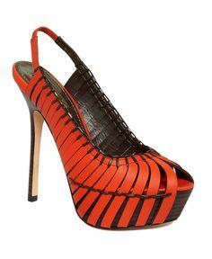 Report Signature Shoes, Brander Platform Pumps