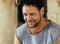 Maximus-Gladiator Gladiator Maximus, Russell Crowe, Cinema Movies, Bruce Lee, Movies Showing, Romans, Hunger Games, Pretty People, How To Look Better