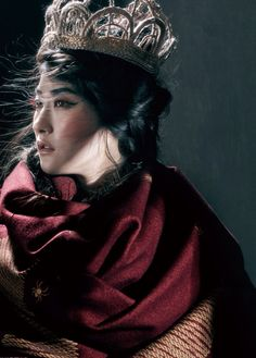 Ji Hye Park (?), Vogue China September 2014