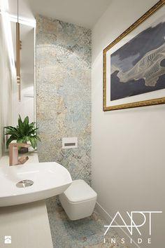 toaleta - zdjęcie od art inside - studio projektowania wnętrz i ogrodów - Łazienka - Styl Glamour - art inside - studio projektowania wnętrz i ogrodów