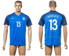http://www.xjersey.com/france-13-mangala-home-euro-2016-thailand-soccer-jersey.html FRANCE 13 MANGALA HOME EURO 2016 THAILAND SOCCER JERSEY Only 33.11€ , Free Shipping!