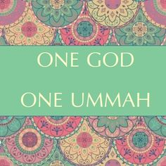 Ummah...means the Muslim community or motherland...kd