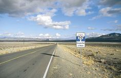 Highway 50 in Nevada, awesome road ever   #explore #secret #travel #hotels #moon #highway #Nevada
