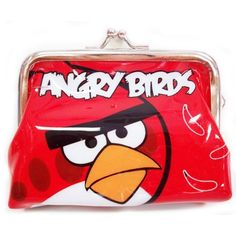 ANGRY BIRDS RED BIRD METAL CLIP COIN PURSE by T.E. $3.99. SIZE : 4INCH * 3INCH