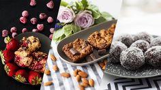 Almond and Chocolate Slice // Coconut Date Balls // Breakfast Bites