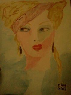 Veronica watercolor