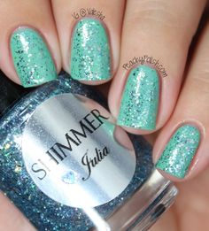 Shimmer Polish: Swatches