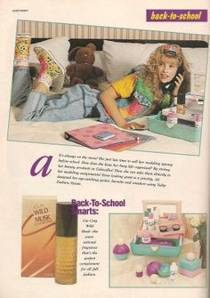 Teen Magazine September 1990 Advertorial How to Create a Vintage Style Home Decor Vintage fashion is Patti Hansen, 80s And 90s Fashion, Teen Fashion, Lauren Hutton, 80s Ads, Retro Advertising, Vintage Outfits, Vintage Fashion, 80s Aesthetic
