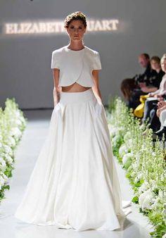 Wedding Dress Designer: Elizabeth Stuart | Woman Getting Married