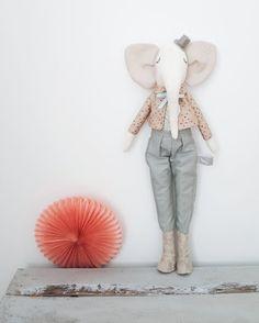 Mr Elephant by AGoodStart on Etsy