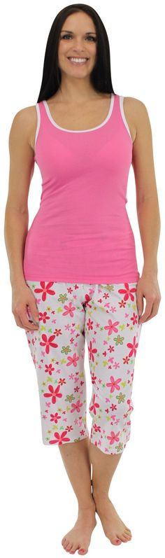 Woman Maternity Pyjama Set cami vest /& joggers Adjustable strap uk Size 8-10