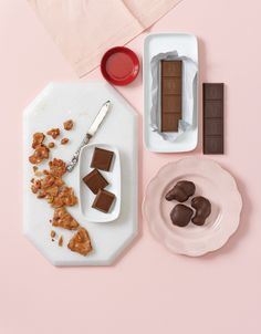 A well-rounded See's Candies meal