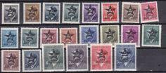 germany 1945 lokal stamps böhmen und mahren