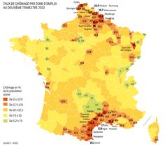 New unemployment map of France [900x800]CLICK HERE FOR MORE MAPS!thelandofmaps.tumblr.com