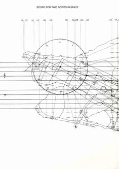 Scores – Rafael Toral Score for Two Points in Space (1992) Realization score. Written as a tribute to John Cage, shortly after he died. Open piece applying a mix of composition methods he introduced
