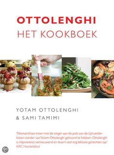 Ottolenghi, het kookboek - Yotam Ottolenghi (2012). Het eerste kookboek van Ottolenghi, niet geheel vegetarisch (zoals Plenty) maar ongeveer 3/4 is wel vegetarisch.