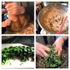 Nancy Singleton Hachisu: delicious greens in pounded walnut-miso sauce.