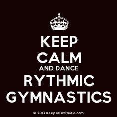 keep calm and love gymnastics | keep calm and dance rythmic gymnastics description crown keep calm ...