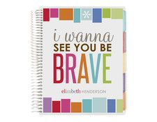 2014-2015 life planner -be brave