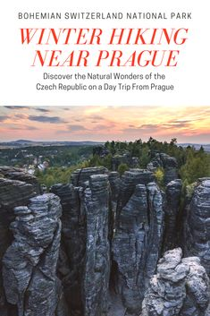 Hiking the Czech Republic: Enjoy unforgettable views & try to catch a winter sunset. Visit two countries and two national parks in one day !Available only in winter season. Visit the jaw-dropping viewpoints around the Bastei in Germany and combine it with the Tisa rocks labyrinth where the Narnia movie was filmed.