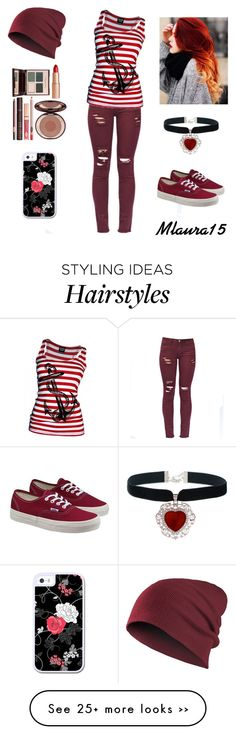 """""""pirate :-/ :-X"""" by laurenciusz on Polyvore featuring Vans and Charlotte Tilbury"""
