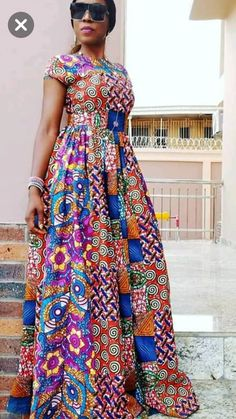 Gorgeous African Print dresses in fashion African Fashion Ankara, Latest African Fashion Dresses, African Inspired Fashion, African Print Fashion, Long African Dresses, African Print Dresses, African Traditional Dresses, African Attire, African Women