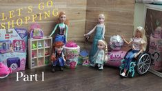 Elsa, Anna, Toddlers Shop at Barbie's Toy Shop! Toddler Videos, Barbie Toys, Elsa Anna, Lol Dolls, Toys Shop, Shopkins, Toy Store, Go Shopping, Kids Toys