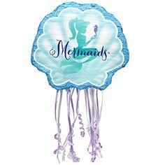 Mermaids Under the Sea Party Supplies - Pull String Pinat... http://www.amazon.com/dp/B00KTJ361C/ref=cm_sw_r_pi_dp_0Gyuxb0NT65RJ
