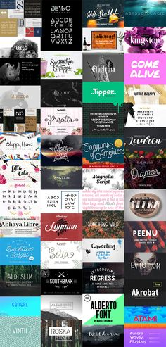 The year 2016 is drawing to a close, so let's take a look back at some of the best free font releases you might have missed from the past 12 months. There's been some fantastic typefaces made available for everyone to download, so help yourself to these goodies in preparation for a creative 2017. I've …