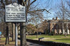 UNC Campus - visited Nov. 2016
