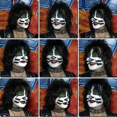 The many faces of The Catman, Eric Singer Kiss Members, Peter Criss, Vintage Kiss, Kiss Pictures, Best Rock Bands, Kiss Band, Ace Frehley, Hot Band, Many Faces