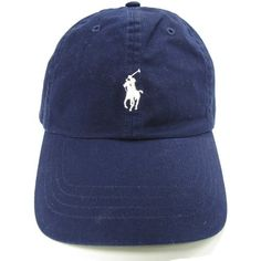Polo Ralph Lauren Polo Men's Baseball Cap Navy ($44) ❤ liked on Polyvore featuring mens, men's accessories and men's hats
