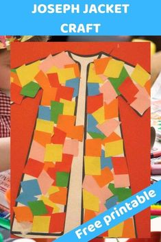 Joseph coat colourful craft for kids. glue and cut - Free Bible lesson for under - Trueway Kids Joseph coat colourful craft for kids. glue and cut - Free Bible lesson for under - Trueway Kids Toddler Bible Crafts, Toddler Bible Lessons, Preschool Bible Lessons, Bible Activities For Kids, Bible Story Crafts, Bible Study For Kids, Preschool Bible Crafts, Bible Stories For Kids, Kids Church Lessons