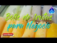 Cómo Hacer Bolis de Frutas para Negocios - Chupetes, Marcianos | Qué Sabroso - YouTube Homemade Fruit Popsicles, The Martian, Icing, Tasty, Sweets, Cake, Desserts, How To Make, Youtube