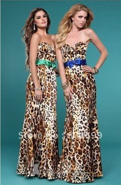 OKAY, I FOUND MY DRESS!!!   Just kidding!  Fashion 2012 Sexy Leopard Sweetheart Formal Prom/Evening/Party/Wedding/Homecoming dress A4489 on AliExpress.com. $148.00