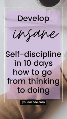 Self Confidence Tips, Self Care Activities, Self Discipline, Self Development, Personal Development, Self Improvement Tips, Self Care Routine, Journal Prompts, Best Self